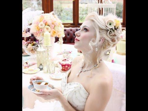 Behind the scenes bridal shoot