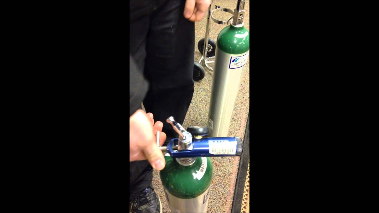 Portable Oxygen Setup Youtube