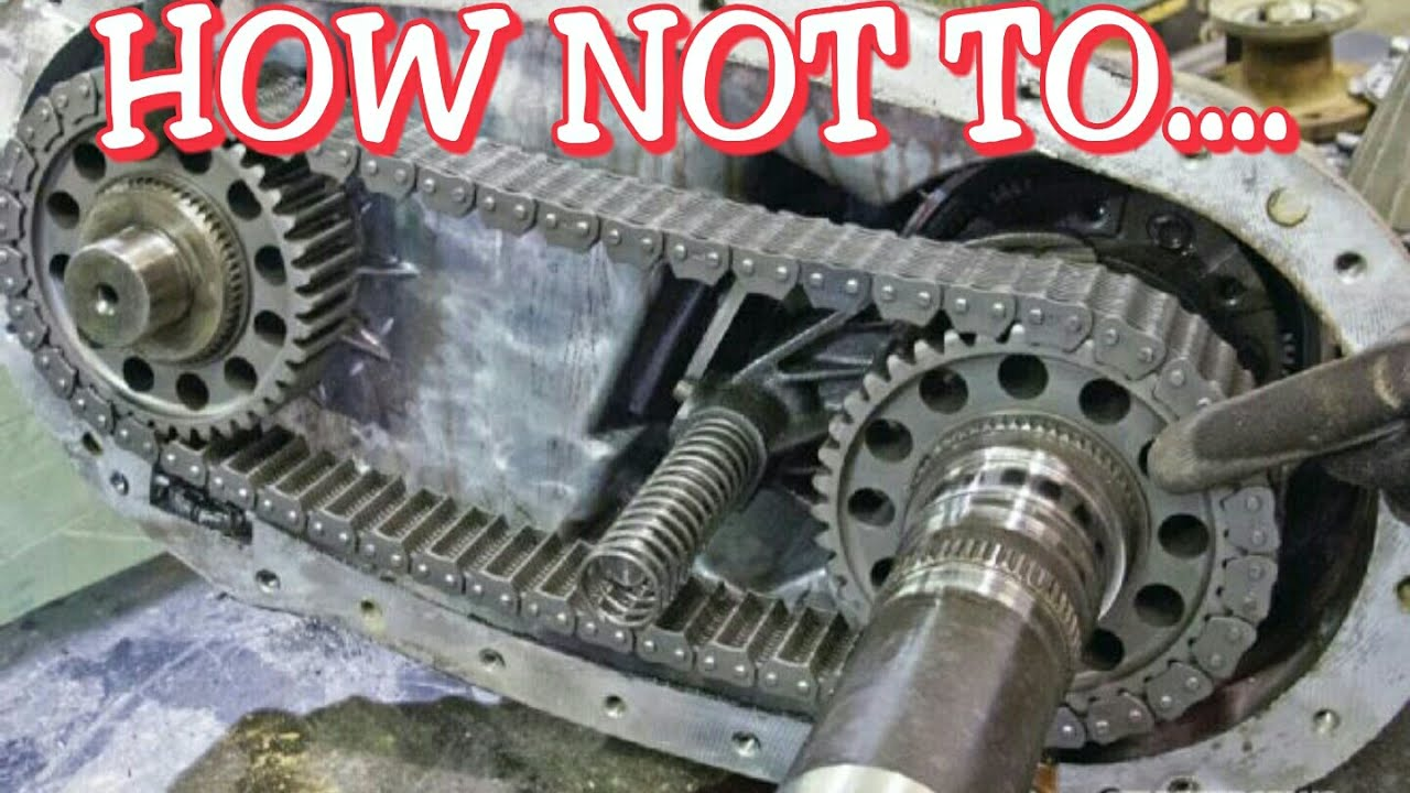 How Not To Put A Cummins Transfer Case Together!