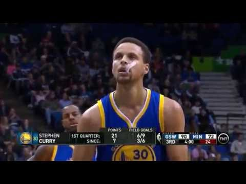 Curry Freethrow throw long version