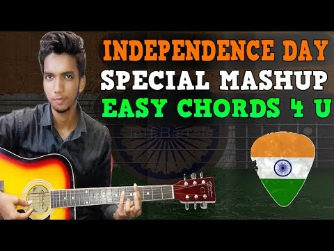 Do a FB Video Cover - Best Mashup 2 Perform - INDEPENDENCE DAY Special - Easy Chords Lesson Tutorial