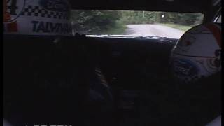 WRC Onboards: Finland 2010 - Latvala on SS16 Requested by juhaket