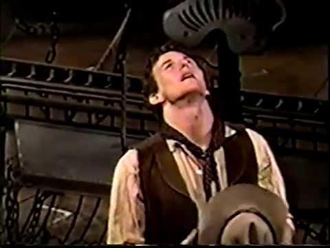 Oklahoma! 2002 Broadway revival Act 1 pt 1 w Patrick Wilson, Shuler Hensley