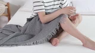 천연 라텍스 메모리폼 침대 매트리스 수면매트 침대토퍼