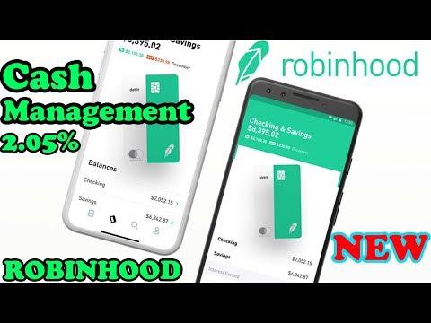 ROBINHOOD CASH MANAGEMENT | Robinhood 2019