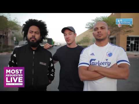 Major Lazer Diplo Most Requested Live Interactive Chat w/ Romeo ‌‌ - AskAnythingChat