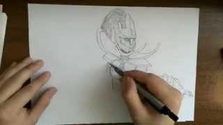 draw Dota 2 Heroes - Phantom Assassin