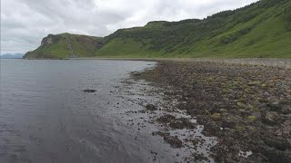 """Searching for dinosaur fossils in Scotland's """"real Jurassic Park"""""""