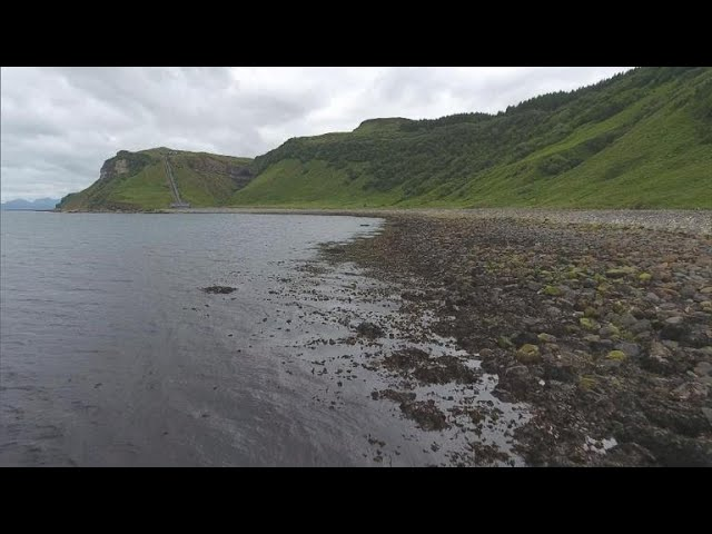 "Searching for dinosaur fossils in Scotland's ""real Jurassic Park"""