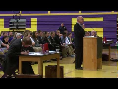 Maine Supreme Judicial Court Hears Appeals at Bucksport High School