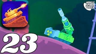 TANK STARS - ATOMIC PVP - Gameplay Walkthrough Part 23 (iOS Android)