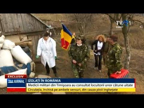 Izolaţi în România: Medicii militari din Timișoara au consultat locuitorii unor cătune uitate