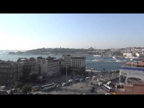 Amazing Istanbul view from penthouse suite Vault Karakoy Hotel