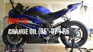 How to: Change oil (06