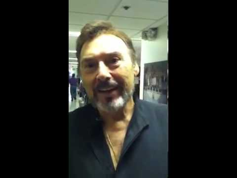 Deidre Hall on set with Joseph Mascolo : Days of our Lives