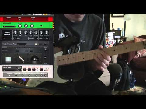 Guitar Rig 5 - Fender Twang Reverb Test