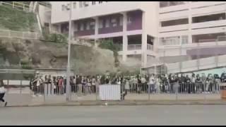 Publication Date: 2019-09-03 | Video Title: 開學了!香港學生不忘全民反送中!近百名嘉諾撒聖家書院舊生齊集