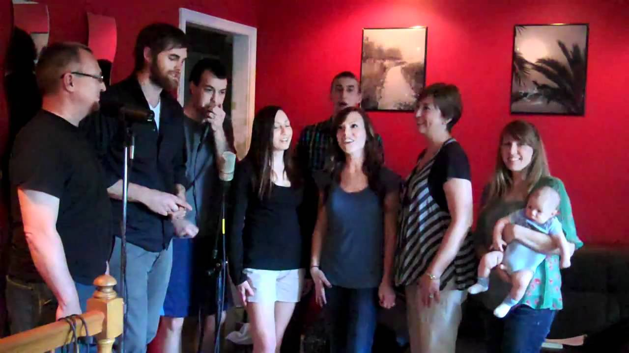 The powell family sings for so you think your family can for 104 7 the fish