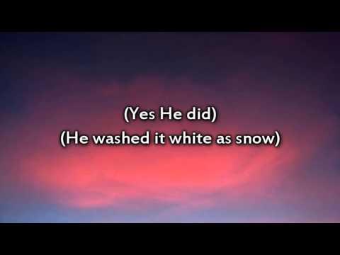 Kristian Stanfill - Jesus Paid It All - Instrumental with lyrics