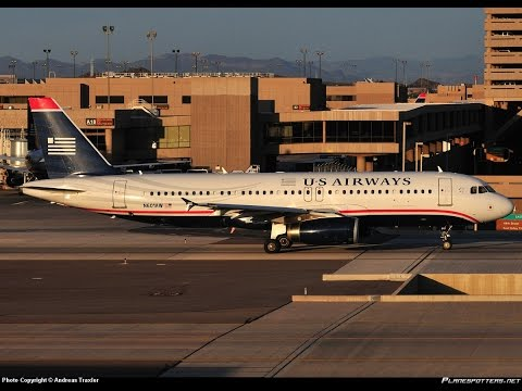 US Airways 601 Departing From BWI