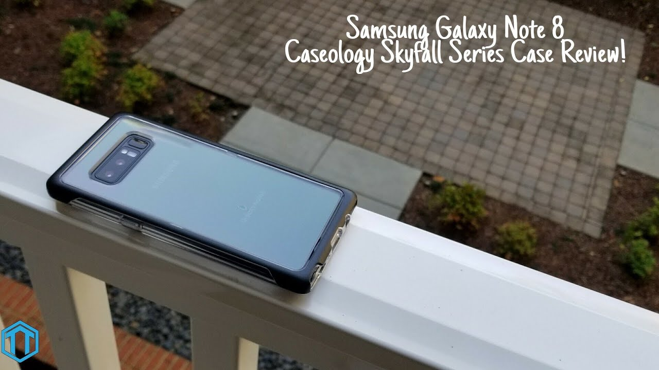 more photos 03e51 0ce08 Samsung Galaxy Note 8 Caseology Skyfall Series Case Review!