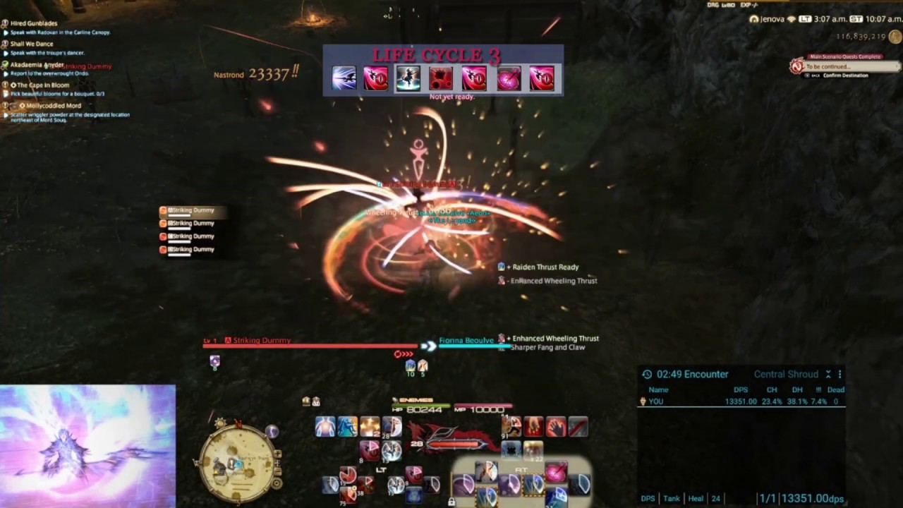 FF14 5 0 Drg Life Cycle Guide / Rotation