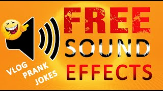 Download Mp3 Most Popular Free Sound Effects Youtubers Use Vlogger Funny Joke Prank Effects