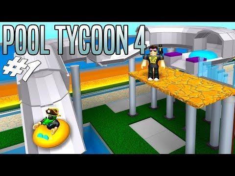 COMKEANS LALANDIA! - Roblox Pool Tycoon 4 Dansk Ep 1