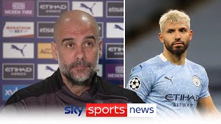 Pep Guardiola says Man City not certain to sign Sergio Aguero replacement