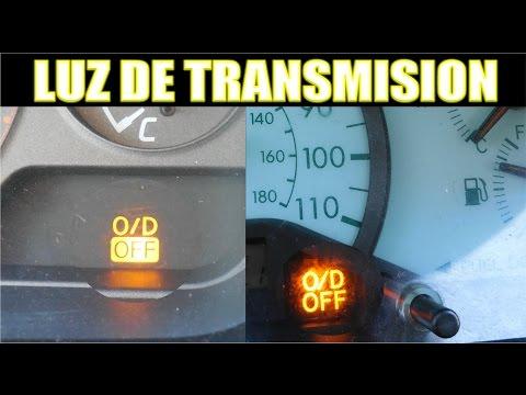 Funcion de la luz del OD/OFF de transmision (y tips)