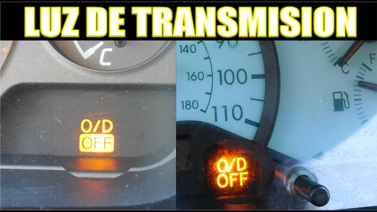 Funcion De La Luz Del Od Off De Transmision Y Tips Youtube