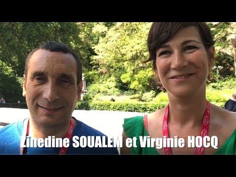 Virginie Hocq et Zinedine Soualem