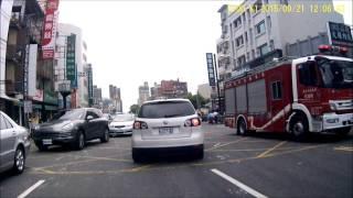 0921彰化中山路一段垃圾車翻車車禍