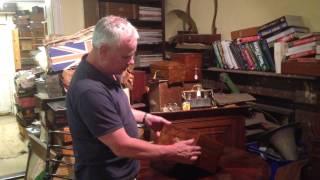 Antique Walnut Jewellery Box- Amazing Gift