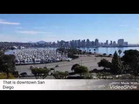 Mandarin Video Journal: That is downtown San Diego