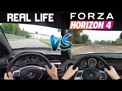 Forza Horizon 4 vs REAL LIFE OnBoard Comparison!