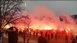 فيديو كراكاج المكشخين في فرنسا ❤💛 شي كبير يا عمري   شي كبير 💛❤💛❤