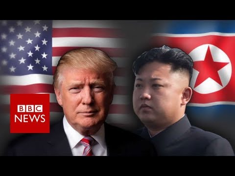 Trump and Kim: An on/off bromance - BBC News