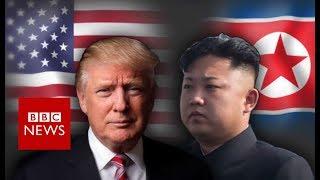 Trump and Kim: An on/off bromance - BBC News