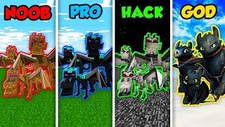 Minecraft NOOB vs. PRO vs. HACKER vs. GOD: DRAGON FAMILY in Minecraft! (Animation)