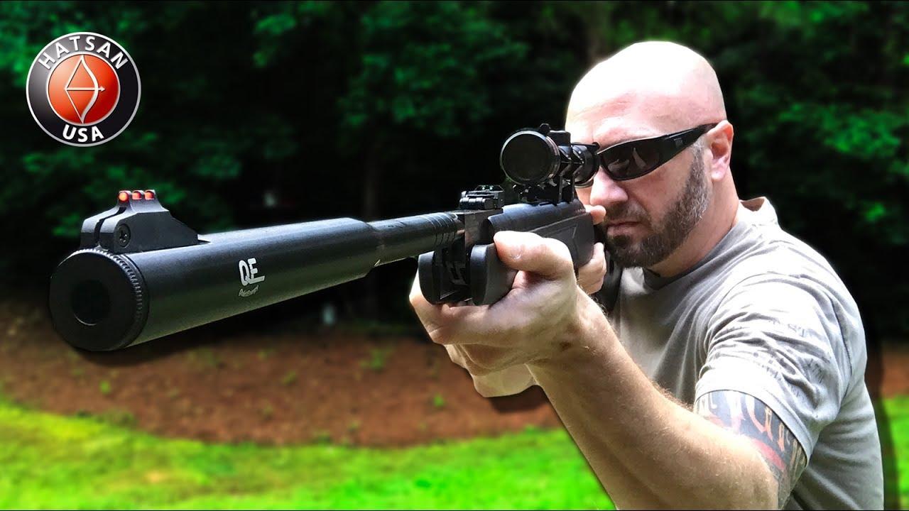 Suppressed Air Rifle - Hatsan 87QE Vortex