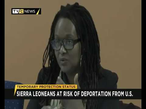 Sierra Leoneans at risk of deportation from U.S.