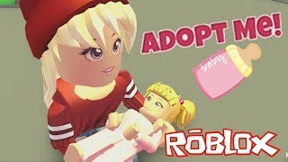 🍼A SUBSCRIBER ADOPTS ME AND SALE MAL😱 ROBLOX ADOPT ME!