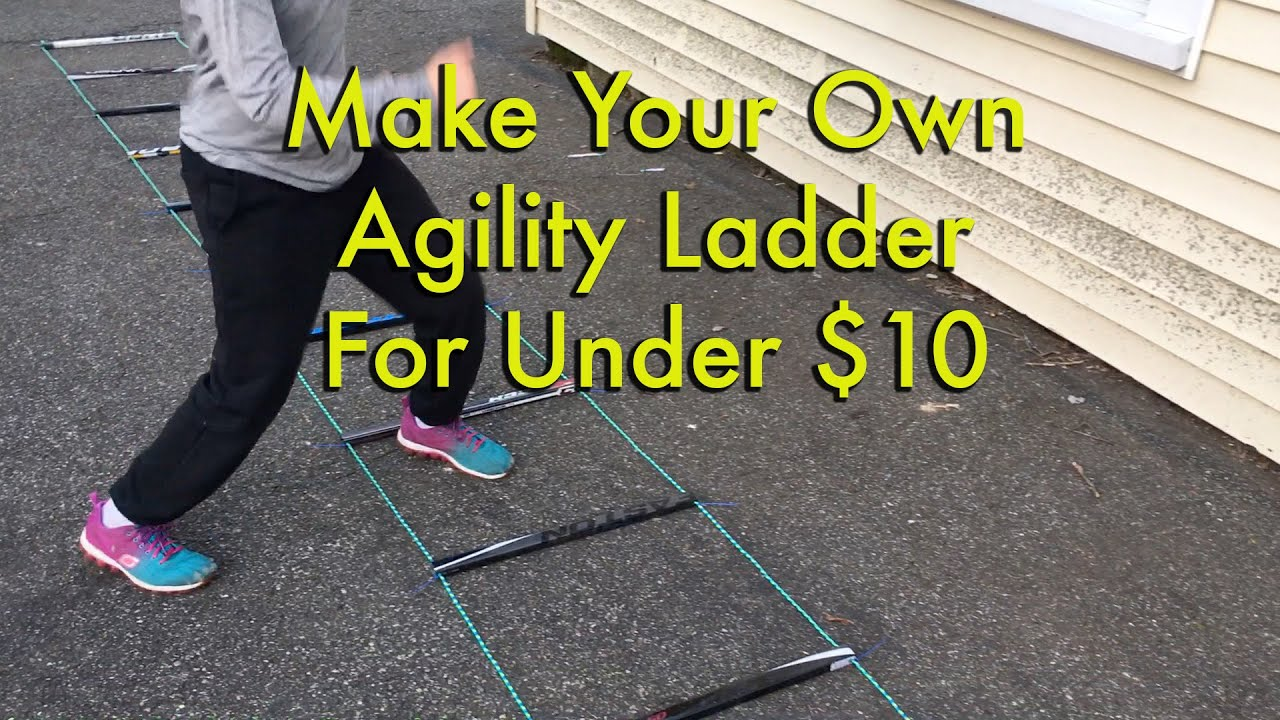 Make Your Own Agility Ladder For Under 10 Youtube