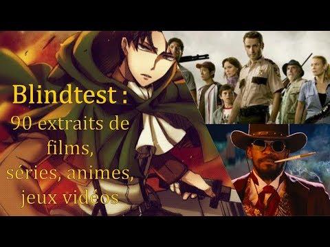 Blindtest : 90 Extraits De Films, Séries, Animes Et Jeux Vidéos