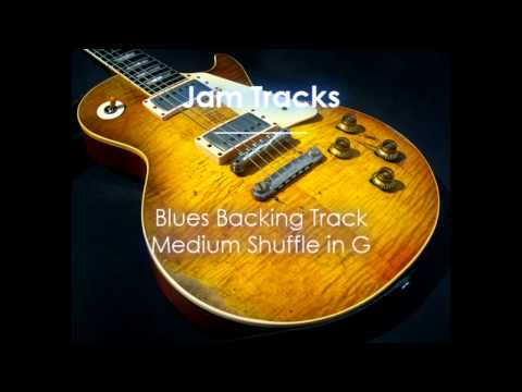 Blues Backing Track (G) - TheGuitarLab.net -