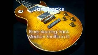 Repeat youtube video Blues Backing Track (G) - TheGuitarLab.net -