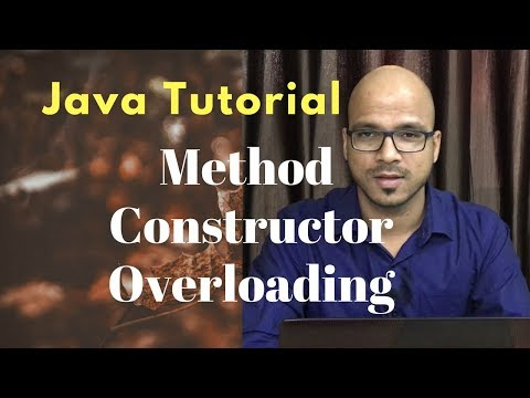 #4.5 Java Tutorial | Method and Constructor Overloading Mp3