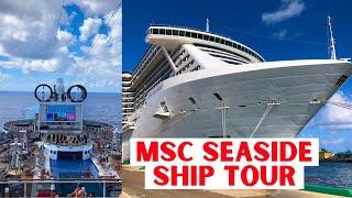 A walk through of MSC Cruises Miami-based MSC Seaside. Seaside has ...