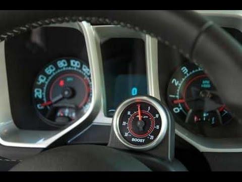 SLP Boost Gauge Package :: 2010-2015 Camaro